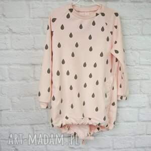 eleganckie ubranka bawełna sukienka dla dziewczynki 122-128