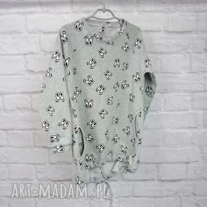 prezent ubranka szare sukienka dla dziewczynki 104-116