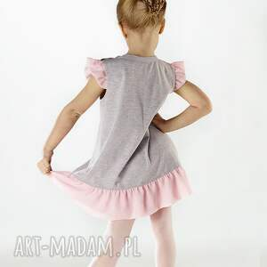 nietuzinkowe ubranka tiul sukienka dsu04