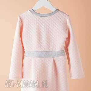 wyjątkowe ubranka pikowana sukienka dsu02r