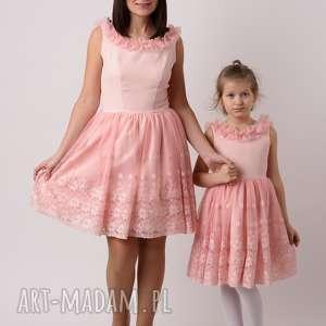 pomarańczowe sukienka dziecięca iga