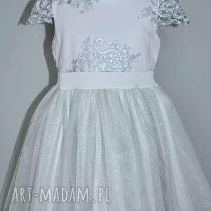 gipiura sukienka dziecięca chloe