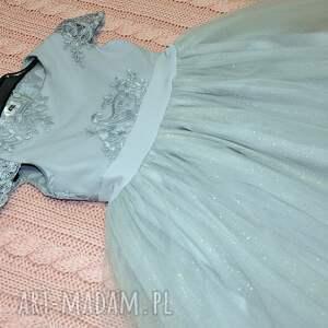 niekonwencjonalne gipiura sukienka dziecięca chloe