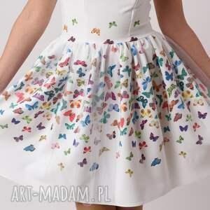 ręcznie wykonane ubranka motylki sukienka dziecięca mariposa