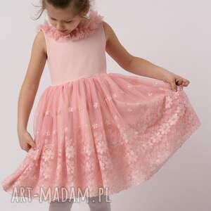 rozkloszowana sukienka dziecięca iga