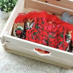 ubranka ludowa sukienka góralska tiulowa cleo roz