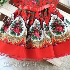 gustowne ubranka sukienka góralska tiulowa cleo roz