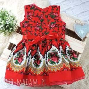 gustowne ubranka ludowa sukienka góralska tiulowa cleo roz