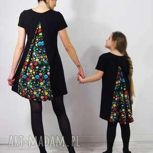 ubranka dzieckofolk sukienka mała swing folk