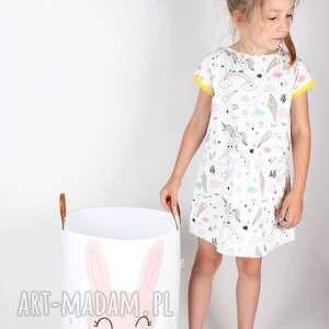 dziecko ubranka sukienka z jednorożcem