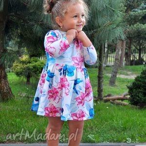 ubranka dzianina sukienki dla mamy i córki koliber