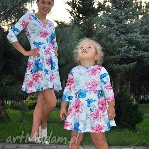 ubranka koliber sukienki dla mamy i córki