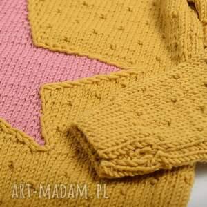 sweterek sweter tunika gwiazda merynos