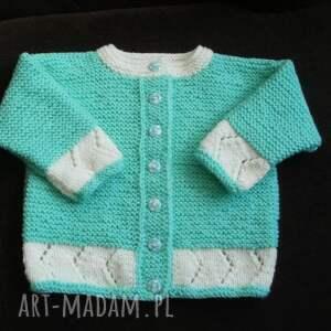 hand made sweterek miętusek