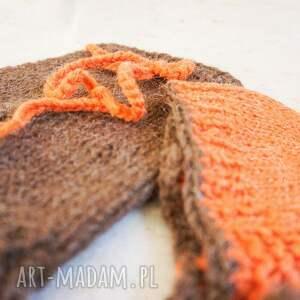 pomarańczowe noworodek szorty i czapeczka dla noworodka