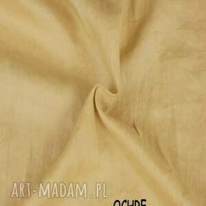 eleganckie lniane spodenki szorty - krótkie