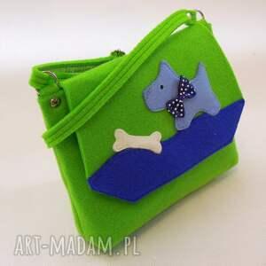 ręcznie robione filc torebka z filcu dla dziewczynki