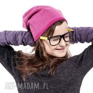 różowe ubranka różowy wygodna i praktyczna czapka