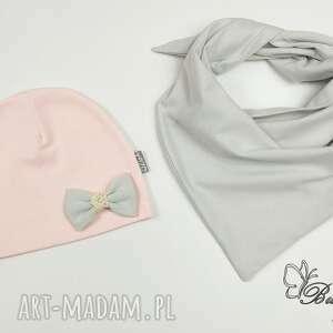 ubranka zestaw czapeczka i chusta -