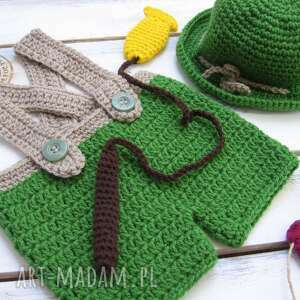 handmade ubranka seja zestaw szydełkowy na sesję