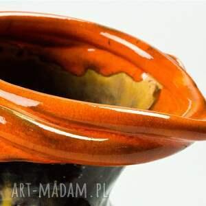 wazon wazony pomarańczowe les fleurs pomarańczowy