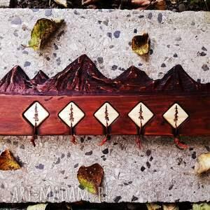 wieszaki drewniany wieszak na klucze