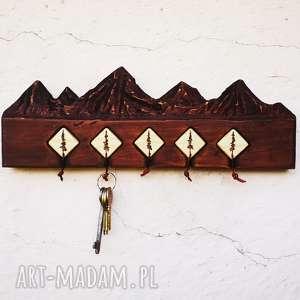 sosna wieszaki drewniany wieszak na klucze