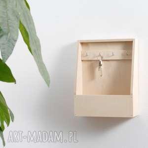 drewniana wieszaki wieszak na klucze, skrzynka
