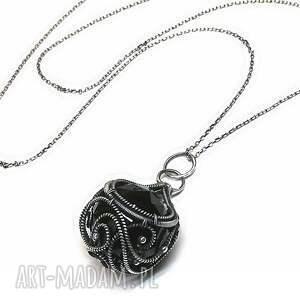 wisiorki wisior black-kryształ swarovski