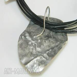 srebrne wisiorki wisior bursztyn