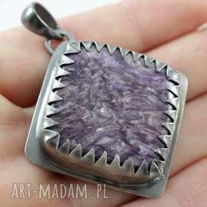 srebrne wisiorki srebro czaroit w srebrnych zębach -