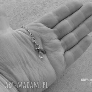 hand made wisiorki delikatny wisiorek z apatytem