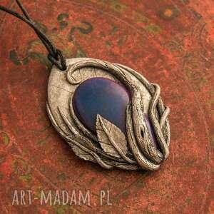 srebrne wisiorki wisior elficki inspirowany