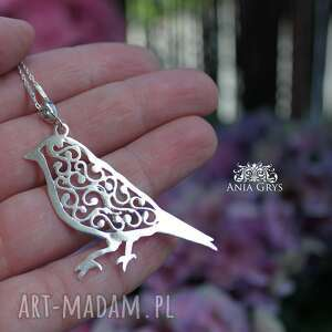 handmade wisiorki ptak just like a bird