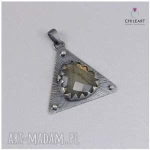 atrakcyjne wisiorki srebro oksydowane piękny wisiorek wykonany własnoręcznie