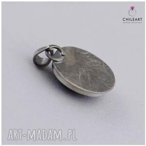 ręczne wykonanie wisiorki srebro-oksydowane lapis lazuli w oksydowanym srebrze