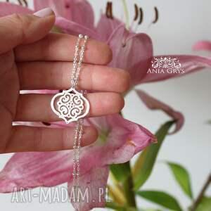 hand made wisiorki wisiorek marokańskie inspiracje