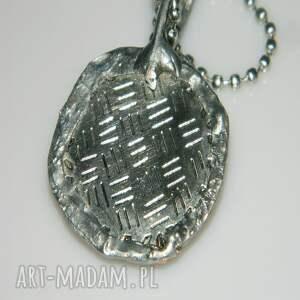 srebrne wisiorki wisior miedziany