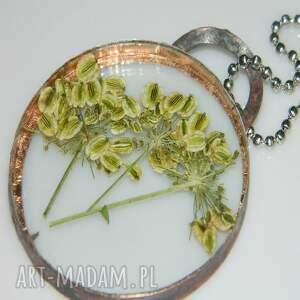 hand-made wisiorki wisior miedziany