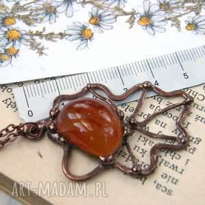 ręcznie robione wisiorki liść wisiorek listek naszyjnik: dębu