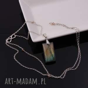 srebrne wisiorki wisior nieskończoność-srebrny