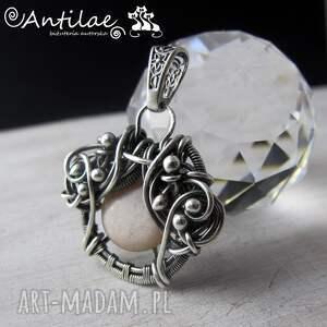 wisiorki sunstone quyosh - kamień słoneczny, srebro