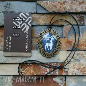 wisiorki patronus patrunus - metaliczny amulet