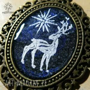 atrakcyjne patronus patrunus - metaliczny amulet