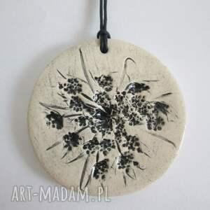 handmade wisiorki wisiorek roślinny wisior