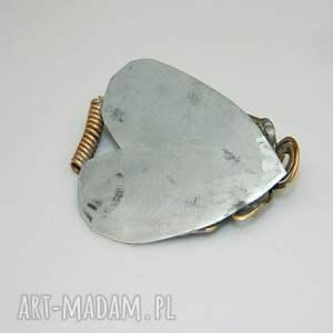 gustowne wisiorki unikatowa-biżuteria serce z okiem -n44
