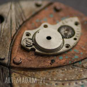 wisiorki malowany steampunkowy wisior