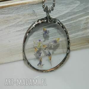 srebrne wisiorki szklany-wisior szklany wisior