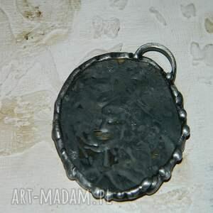 eleganckie wisiorki unikalna-biżuteria szklany witraż z