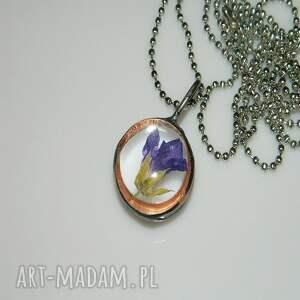 hand made wisiorki unikalna-biżuteria szklany witraż